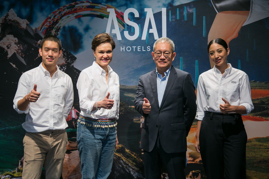 ASAI Hotels was launched by Dusit's executives on 3 April 2018..jpg